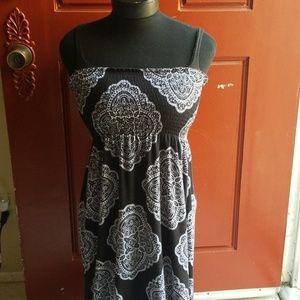 😍 Strapless summer dress!